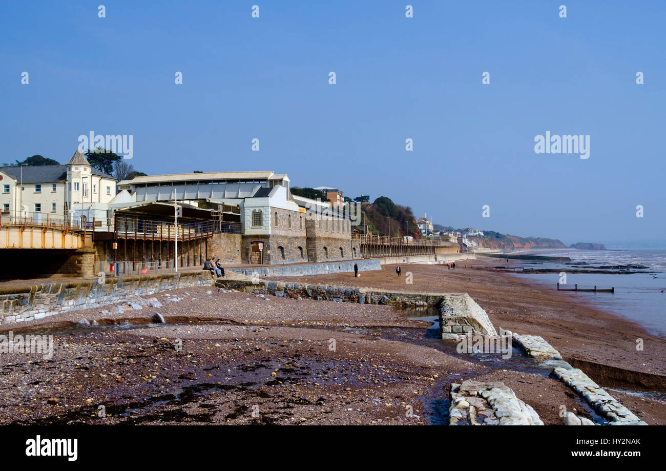 Dawlish a seaside town in South Devon England UK - Stock Image