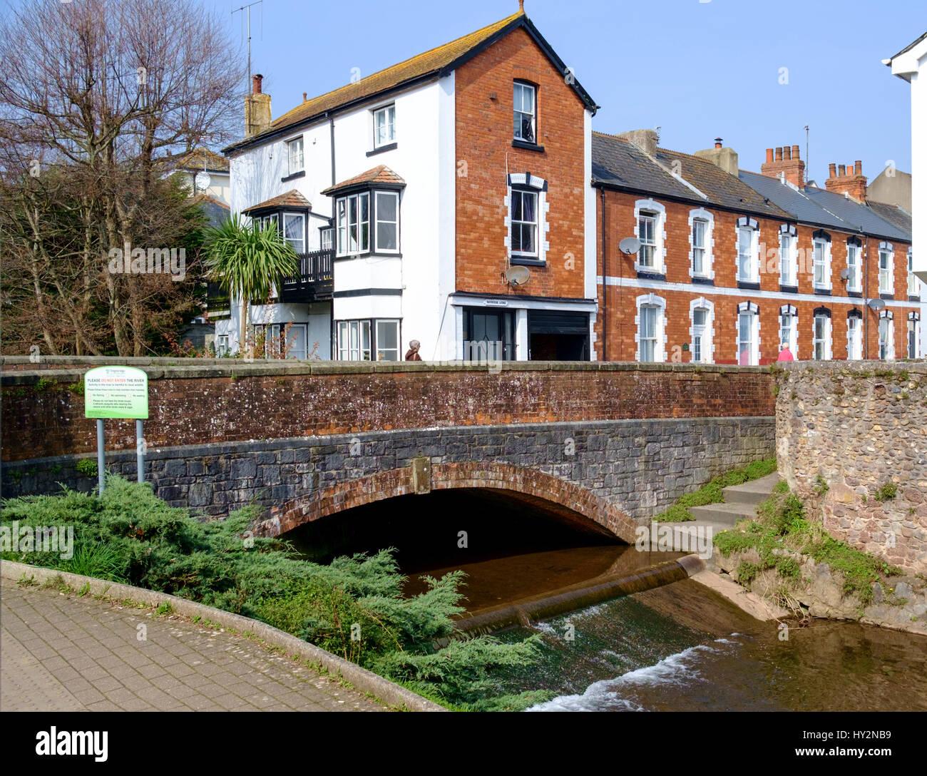Dawlish a seaside town in South Devon England UK - Stock Image