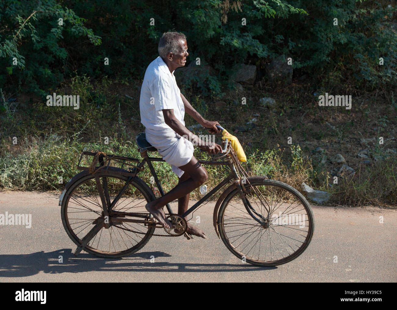 Old Indian Bicycle High Resolution Stock Photography and Images - Alamy