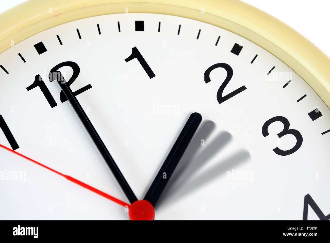 Uhr umstellen