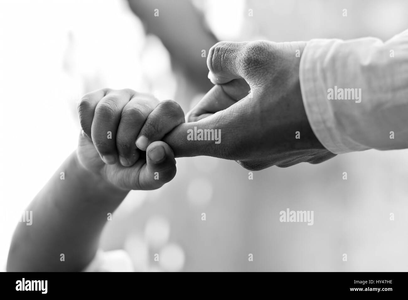 Helping hand. - Stock Image