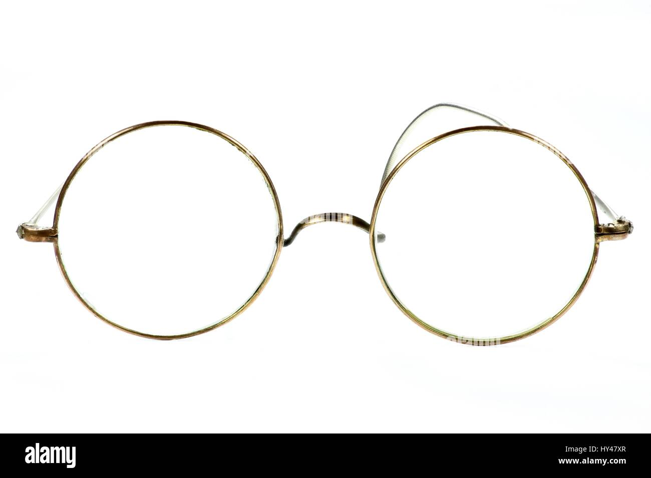 01ff33e92b5cc Round Spectacles Stock Photos   Round Spectacles Stock Images - Alamy