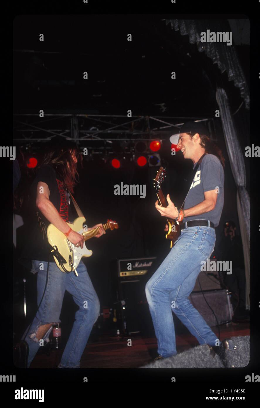 Pearl Jam photographed live at The Palladium in Hollywood, CA on