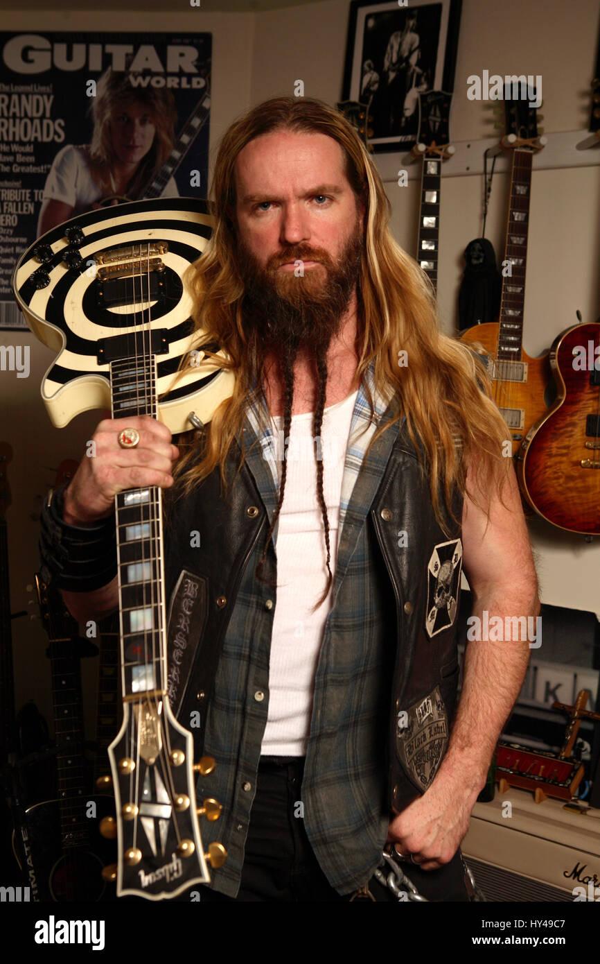 Zakk Wylde Of The Ozzy Osbourne Band And Leader Of The