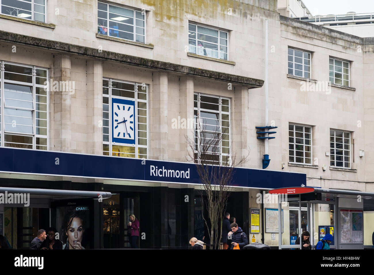 Richmond Town Centre in the South West of London, England, U.K. - Stock Image