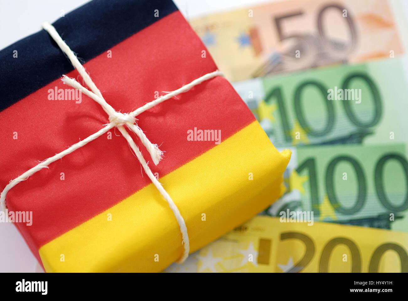 German savings package, Deutsches Sparpaket Stock Photo