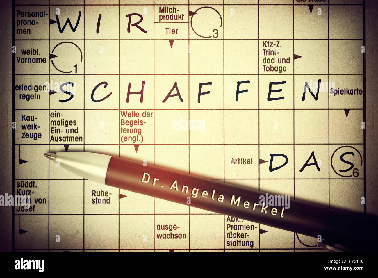 Attraktiv Crossword Puzzles With The Concepts We, Create,, Kreuzwortraetsel Mit Den  Begriffen Wir,
