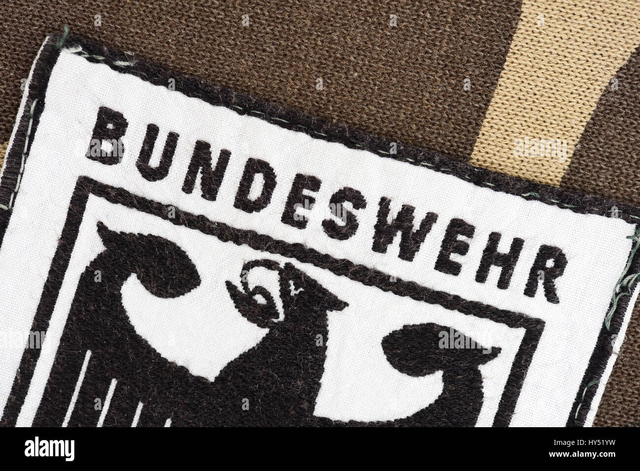 Armed forces badges, Bundeswehr-Abzeichen - Stock Image