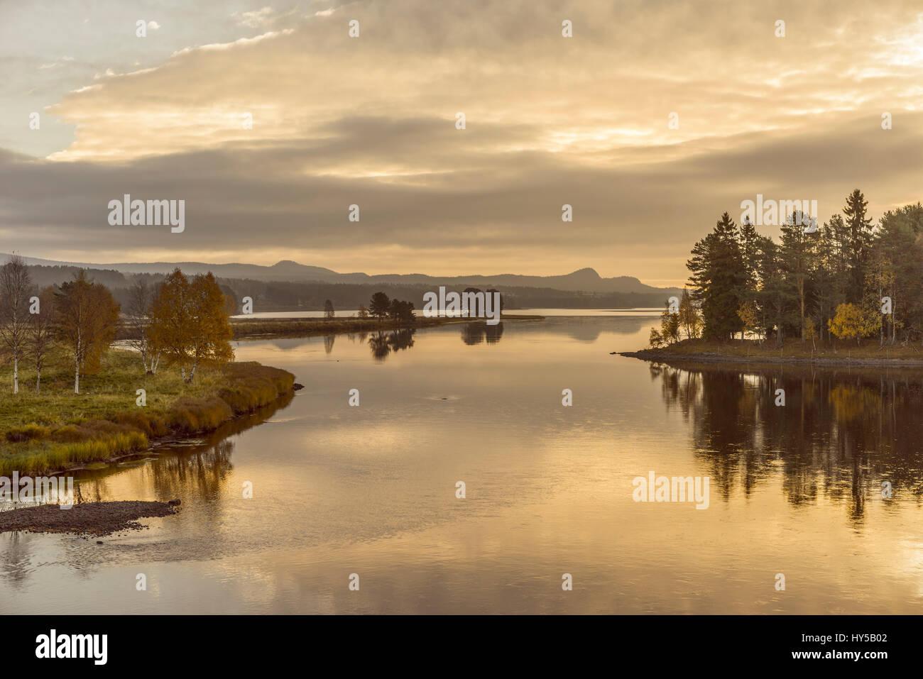 Sweden, Dalarna, Fulufjellet National Park, Njupeskar - Stock Image