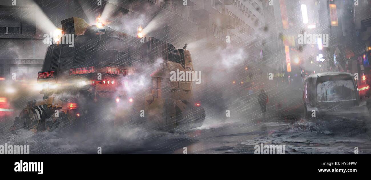 RELEASE DATE: October 6, 2017 TITLE: Blade Runner 2049 STUDIO: Columbia Pictures DIRECTOR: Denis Villeneuve PLOT: - Stock Image