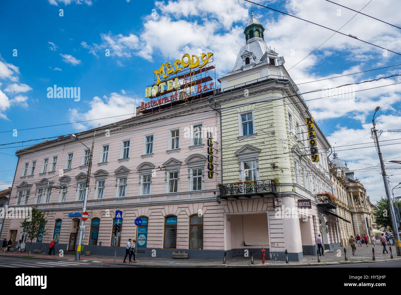 Hotel Melody Central in Cluj Napoca, second most populous city in ...