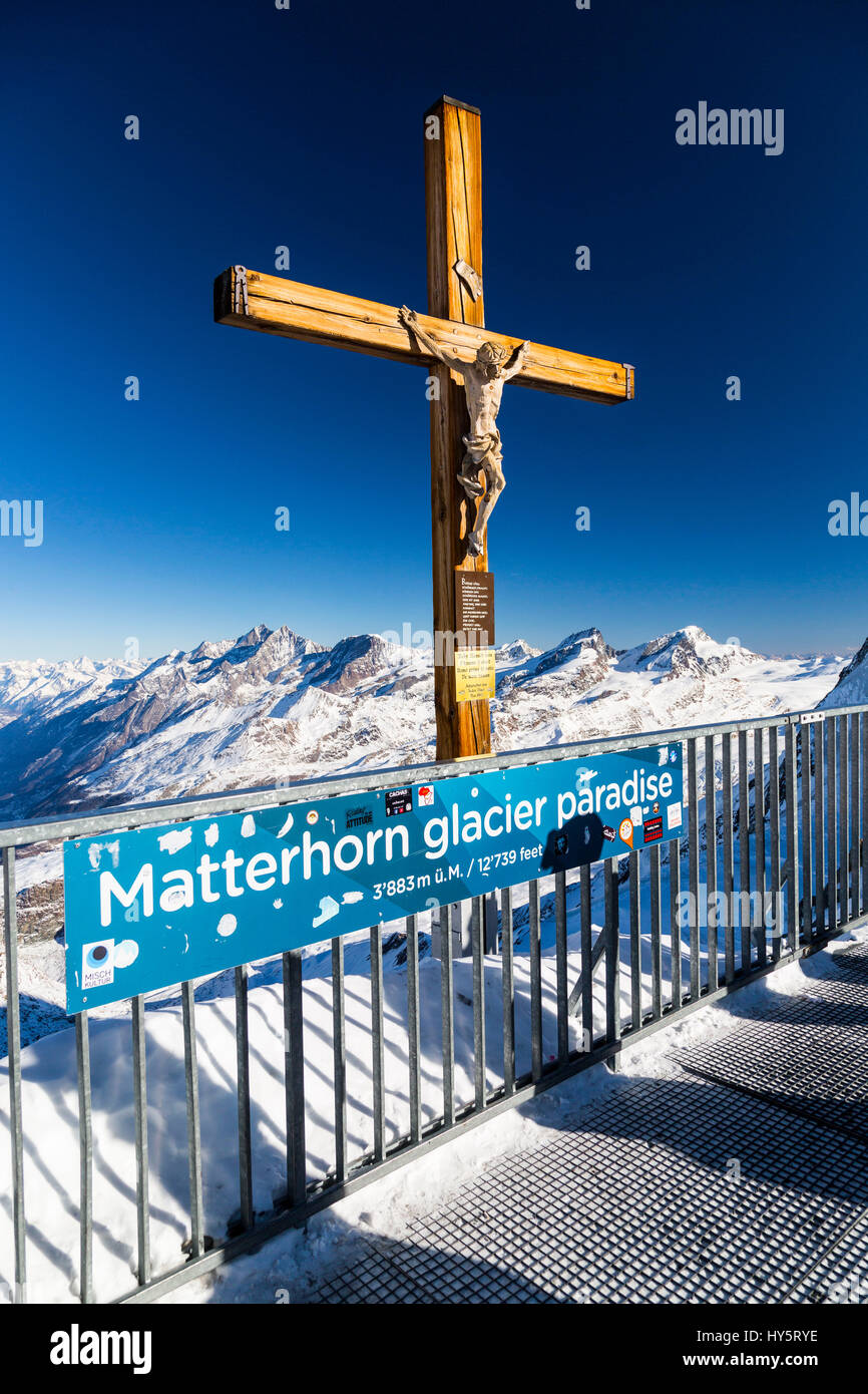 Attraction Attractions Beauty In Nature Canton Valais Christ Color Stock Photo Alamy