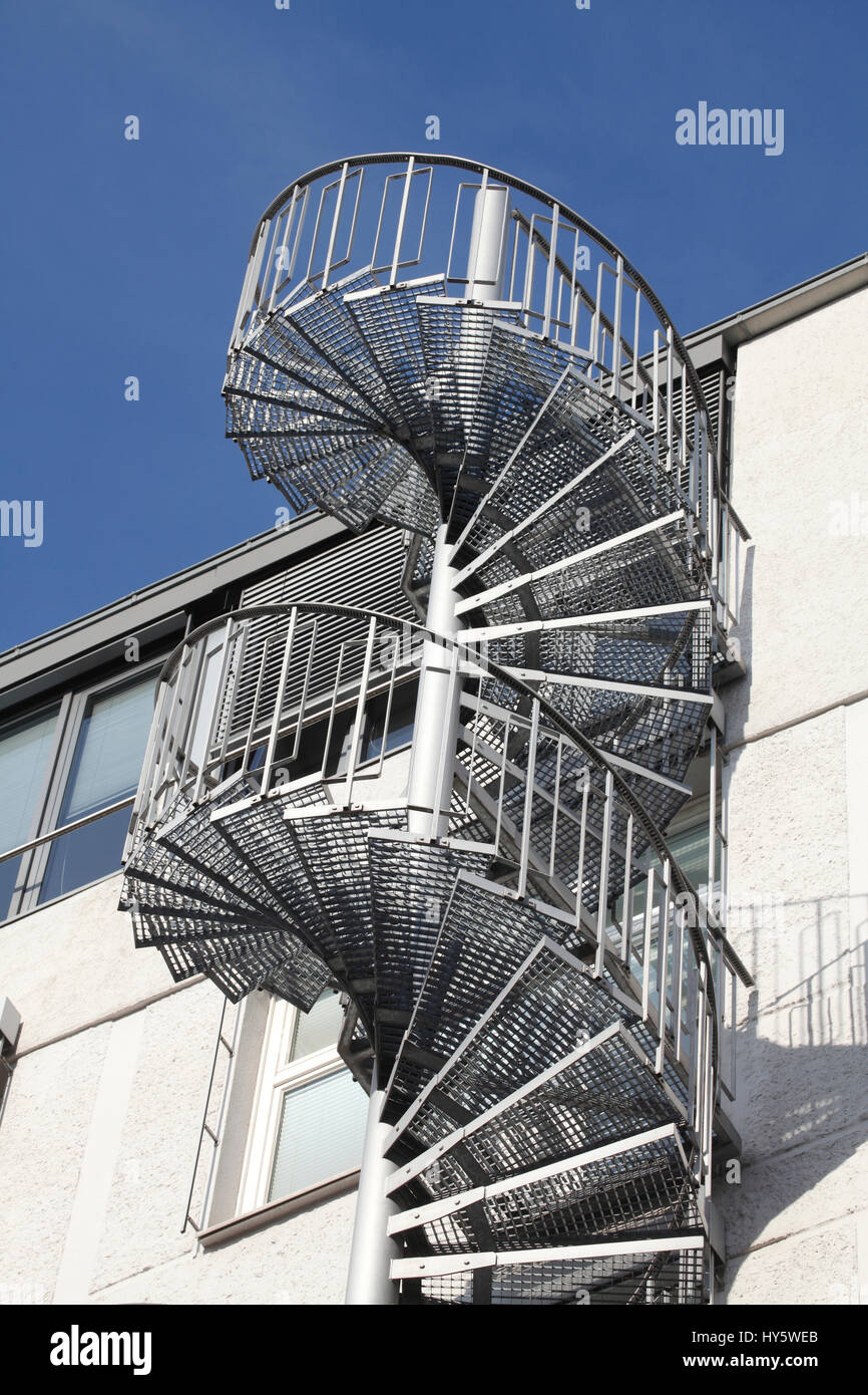 Outside Spiral Staircase