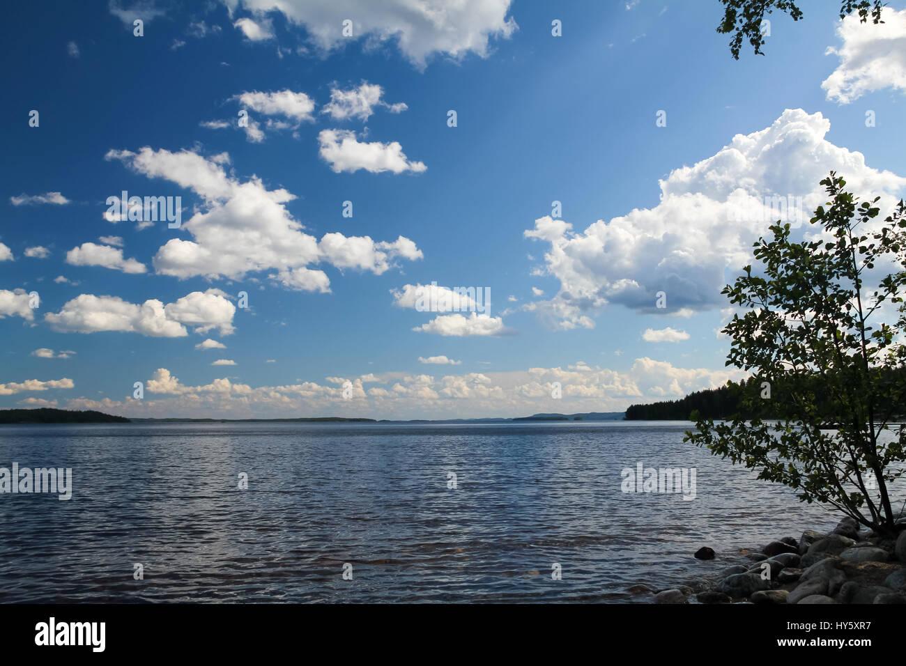 Lake Pielinen Stock Photo