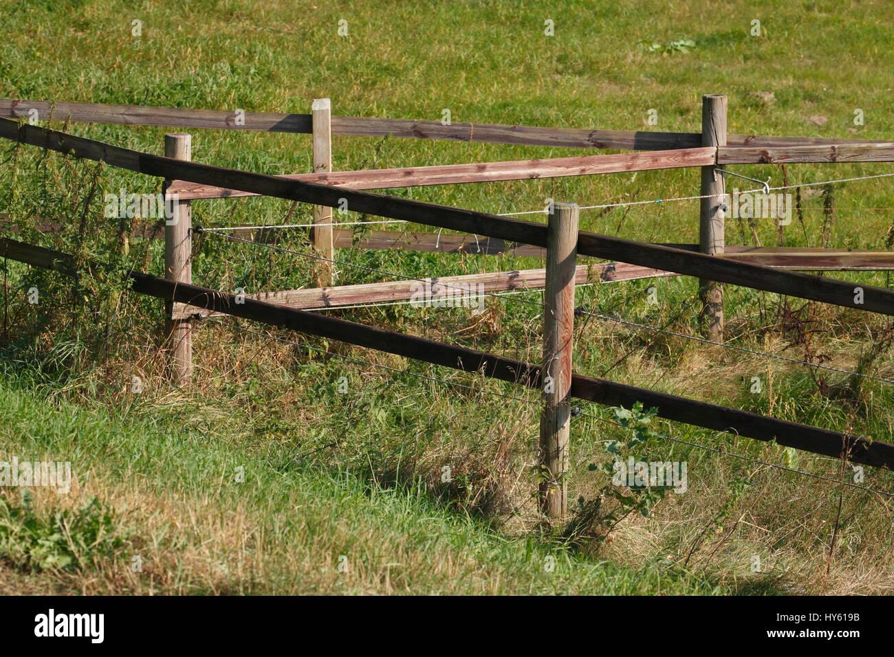 Weidenzaun Stock Photos Weidenzaun Stock Images Alamy