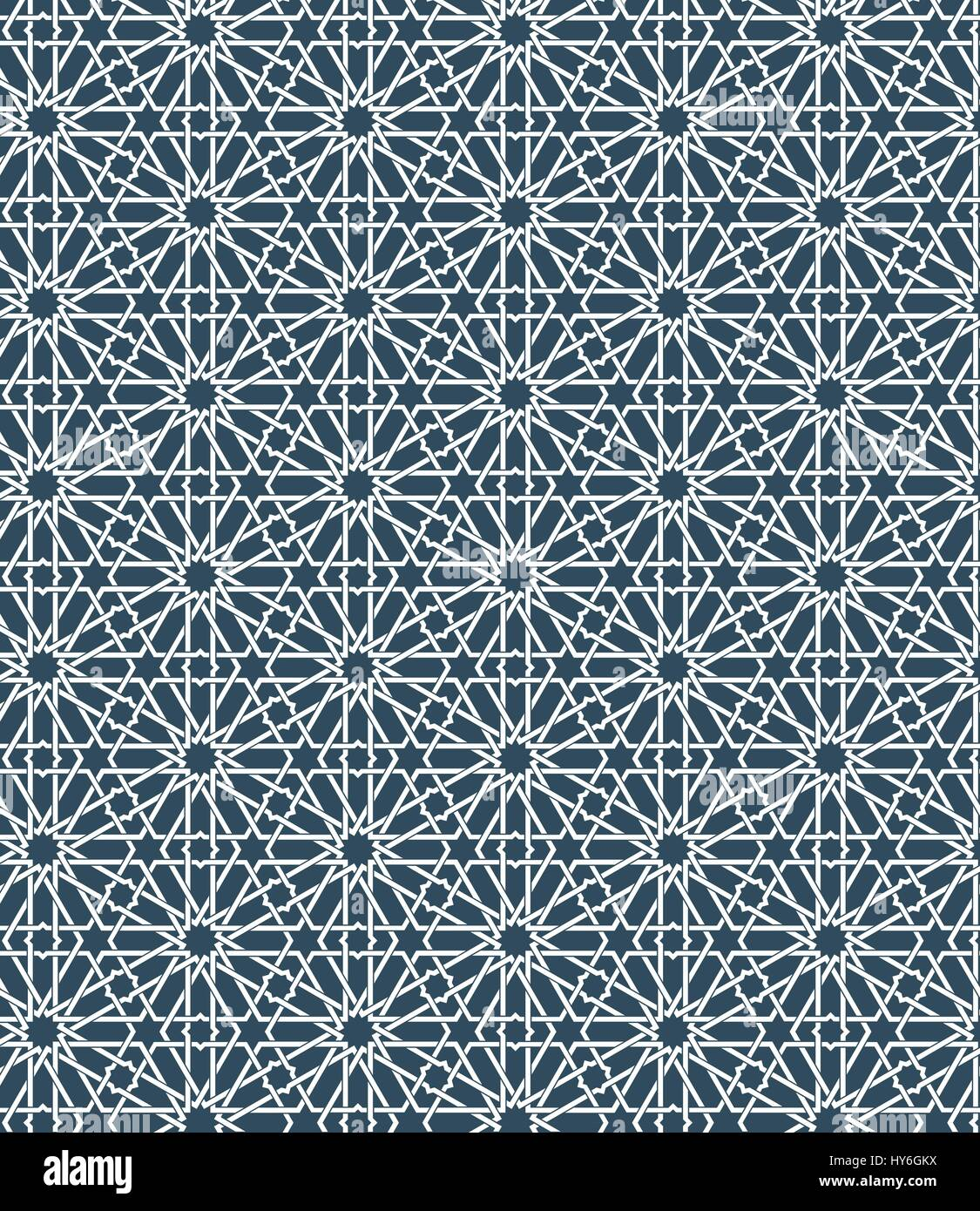 Seamless Islamic Moroccan Pattern Arabic Geometric