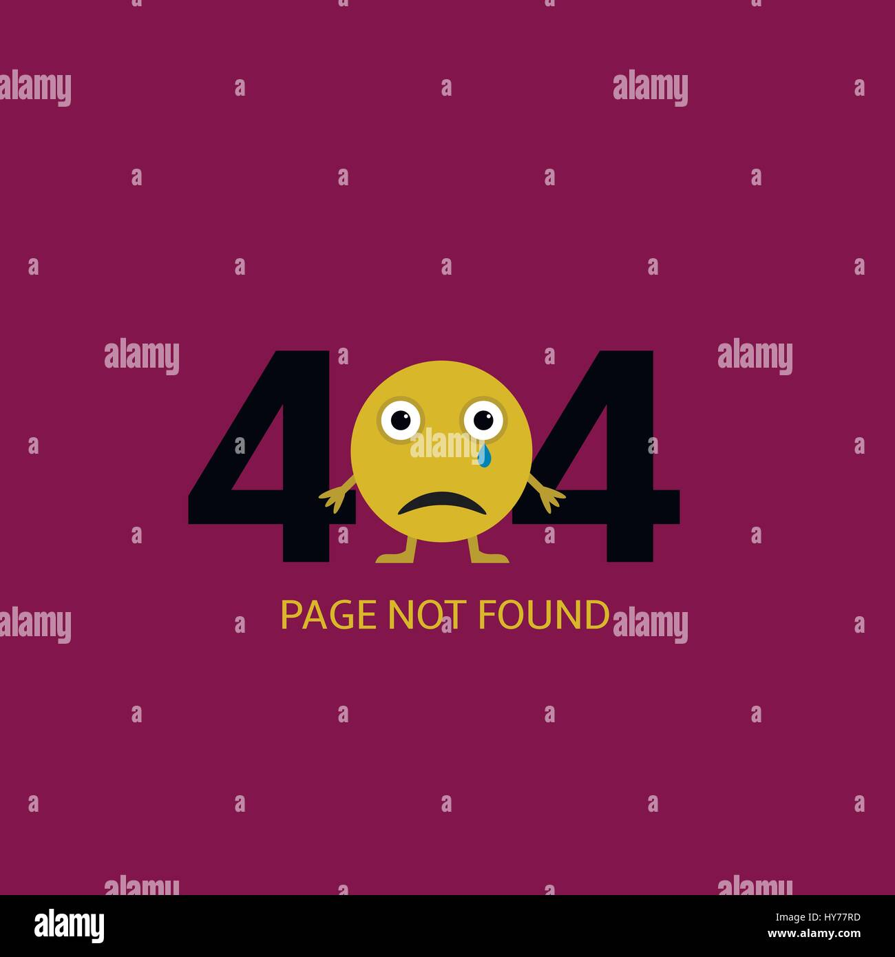 Page not found - Stock Image