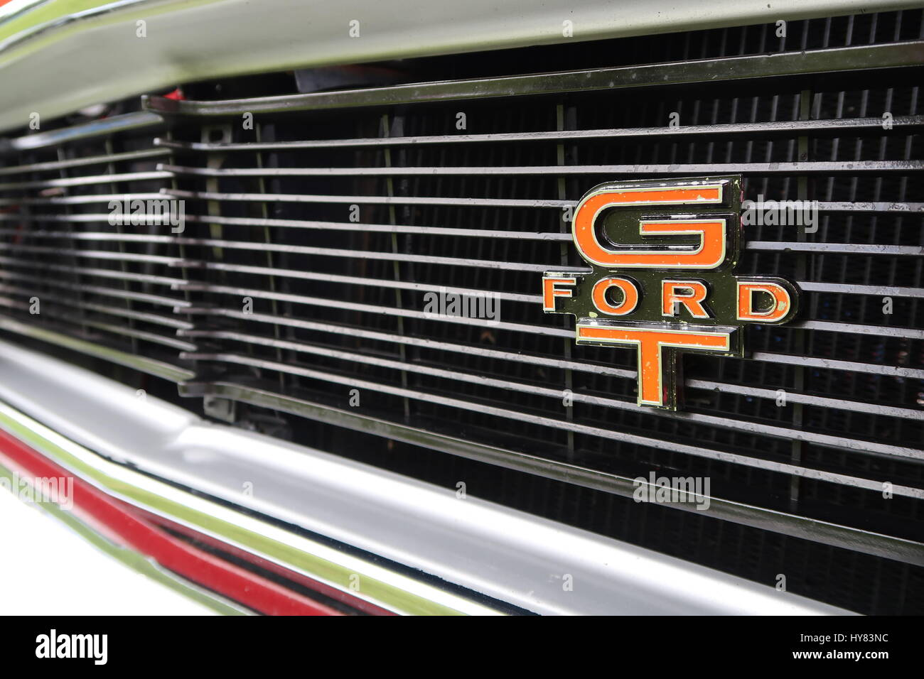Australian Ford Gt Falcon Front Grill And Badge