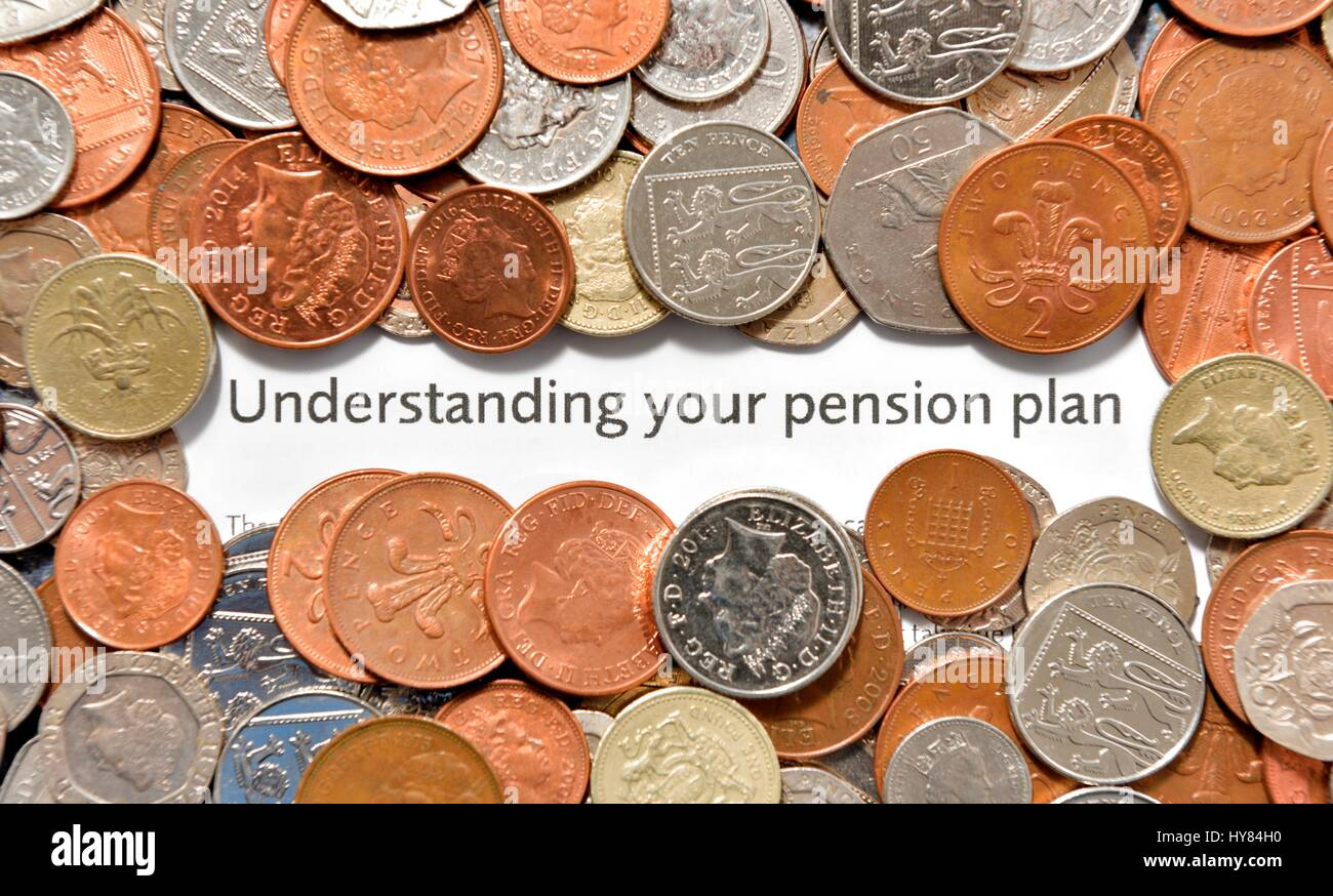 Understanding your pension plan - Stock Image