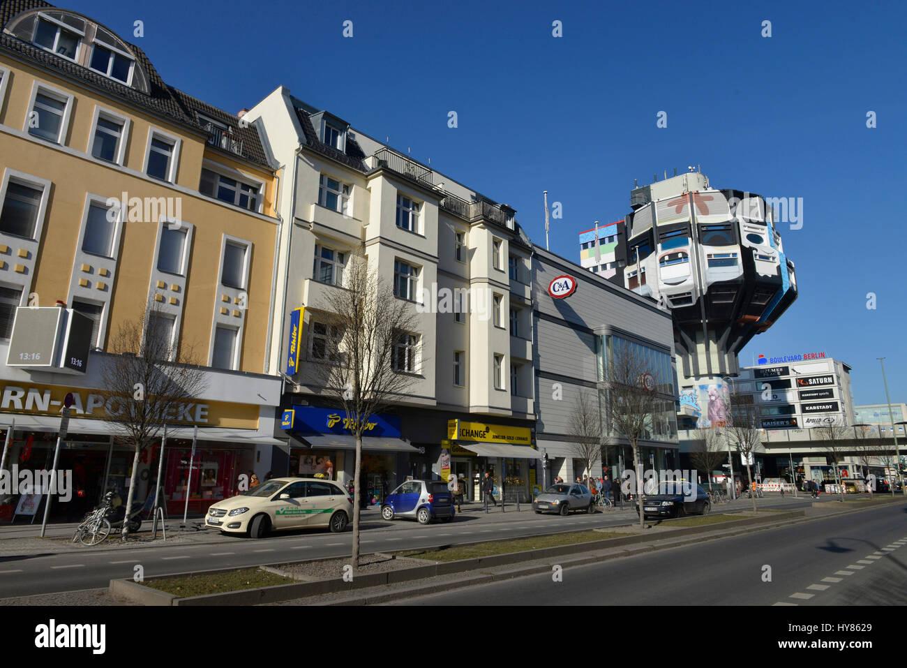 Schlossstrasse, Steglitz, Berlin, Germany, Deutschland - Stock Image
