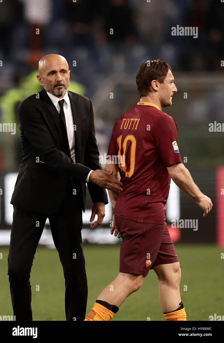 Francesco Totti Spalletti High Resolution Stock Photography and Images -  Alamy