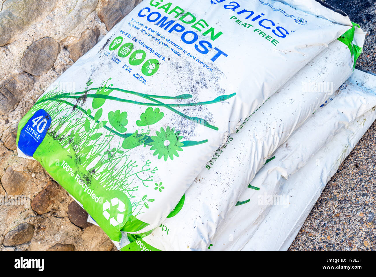 Compost - Stock Image