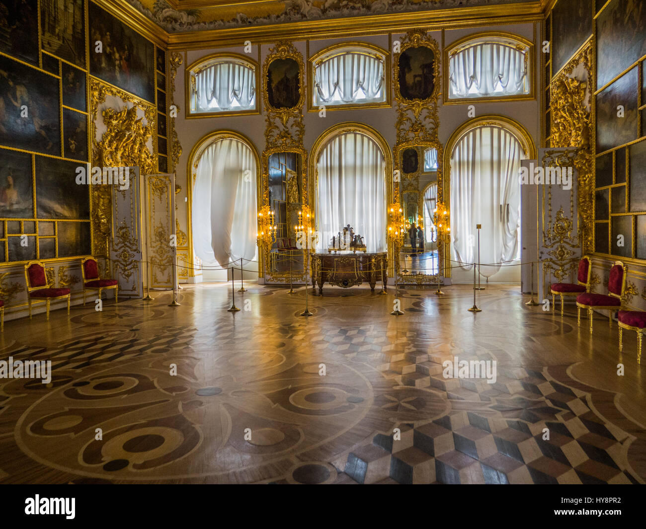 Merveilleux Catherine Palace Interiors. Pushkin, St. Petersburg, Russia   Stock Image