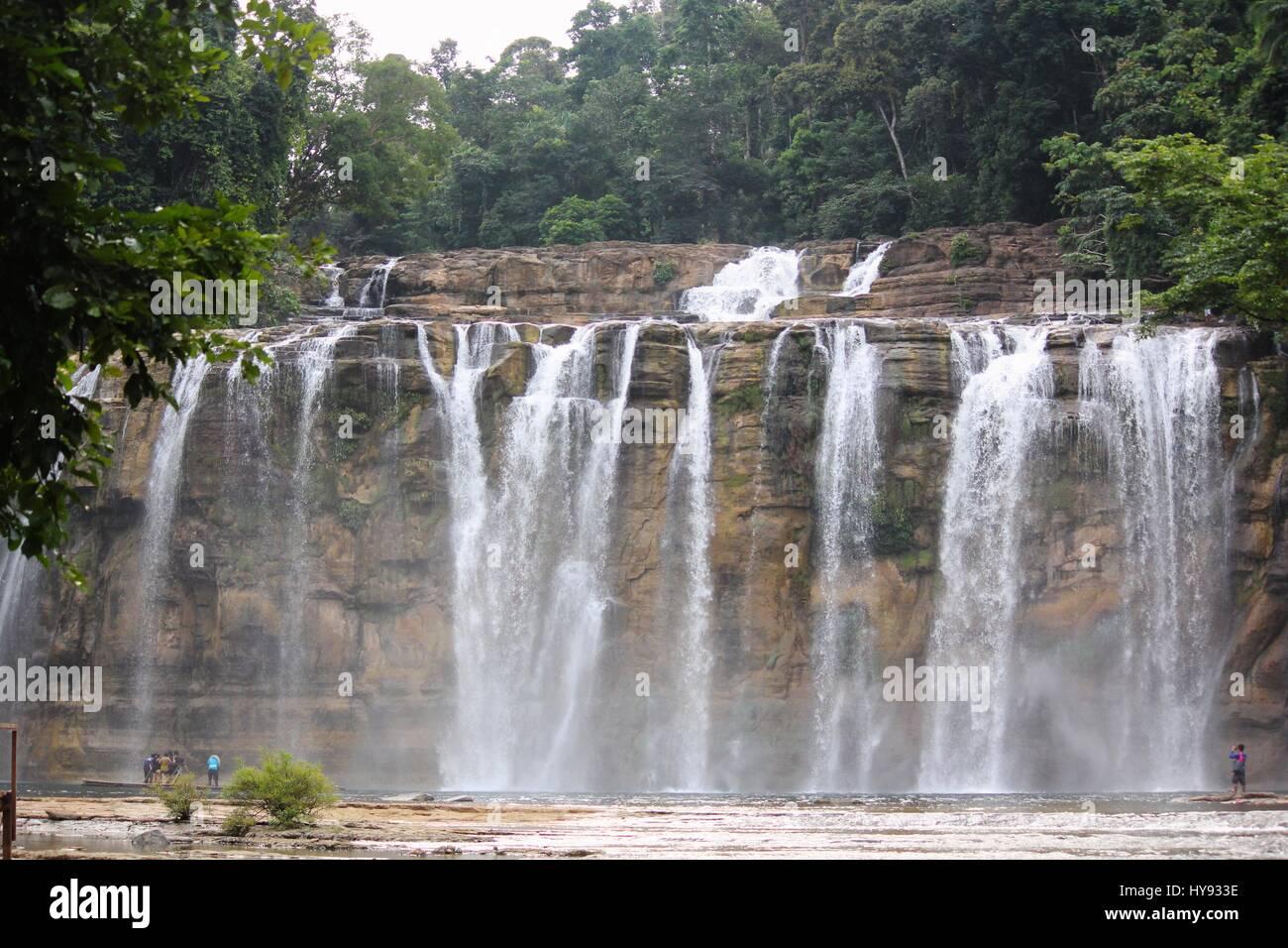 Tinuy-an Falls, Bislig, Surigao del Sur Philippines - Stock Image