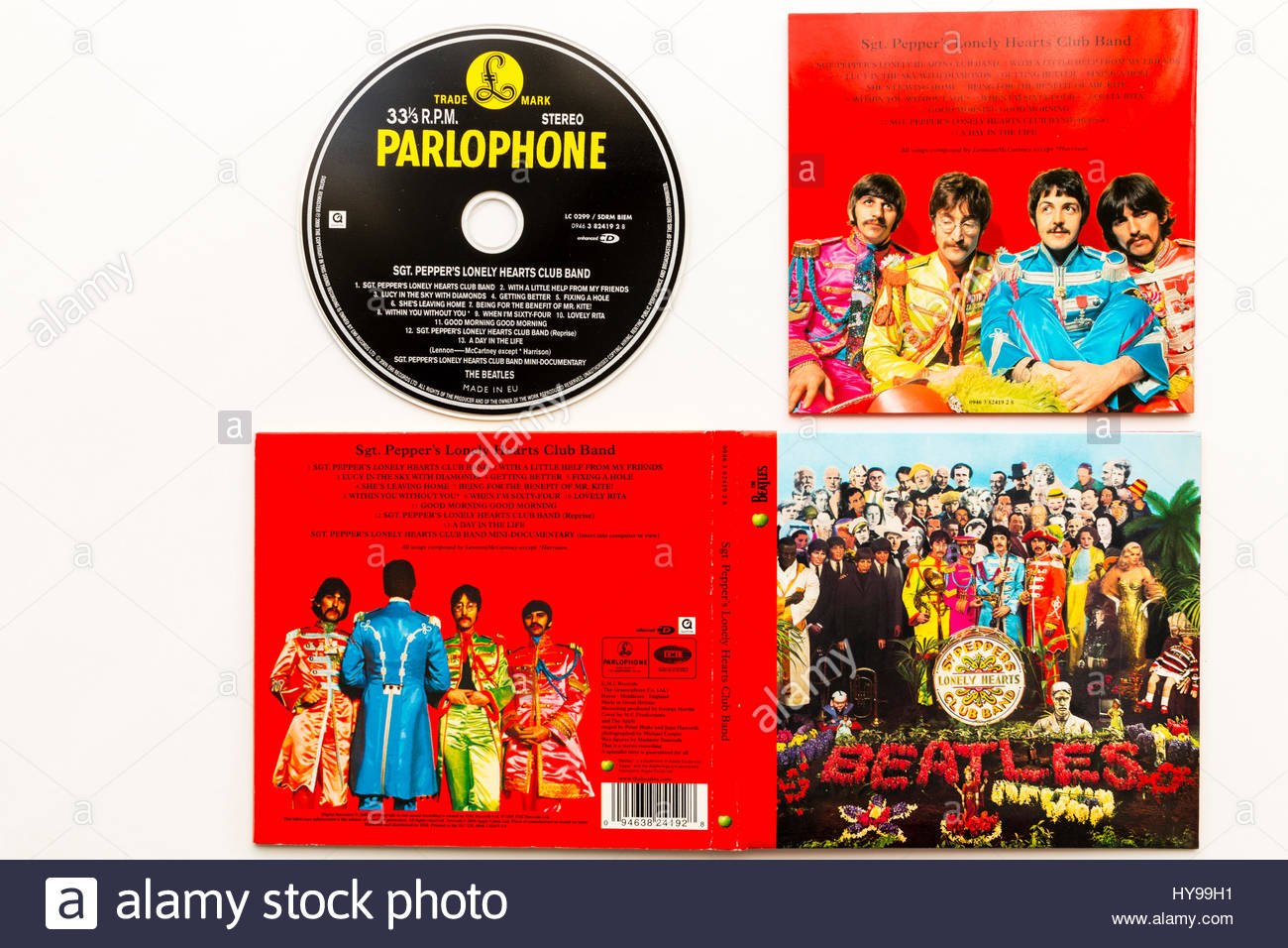 the beatles cd verison of sgt pepper s lonely hearts club band