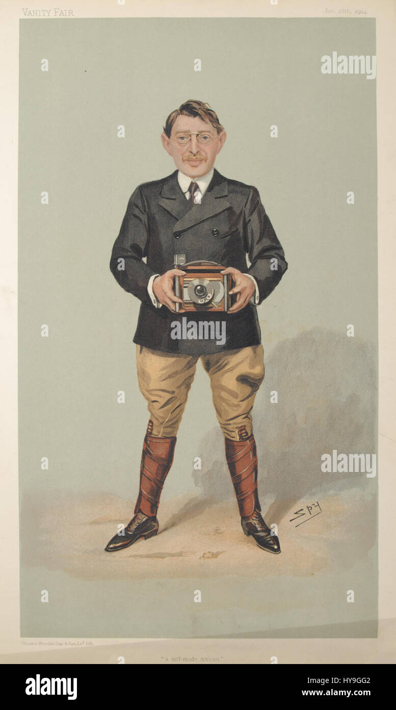 Charles Sydney Goldmann Vanity Fair 28 January 1904 - Stock Image