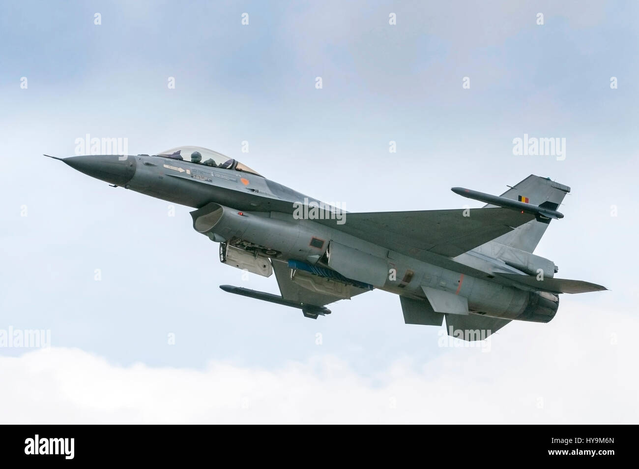 Belgian Air Force F16 Fighting Falcon Stock Photo