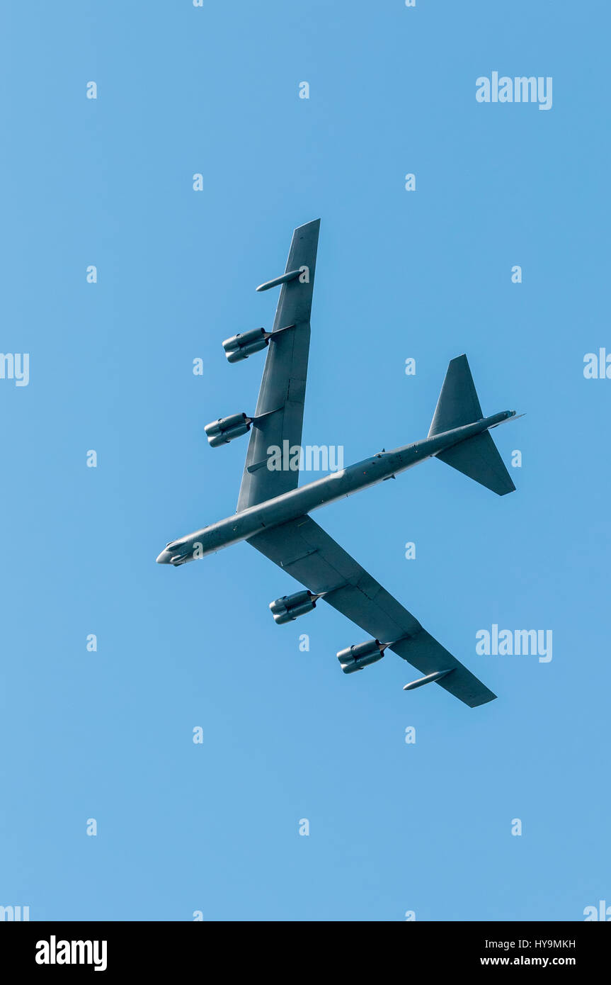 USAF B-52 Stratofortress Stock Photo