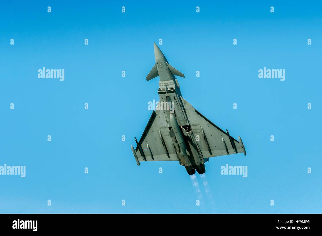 RAF Eurofighter Typhoon Stock Photo