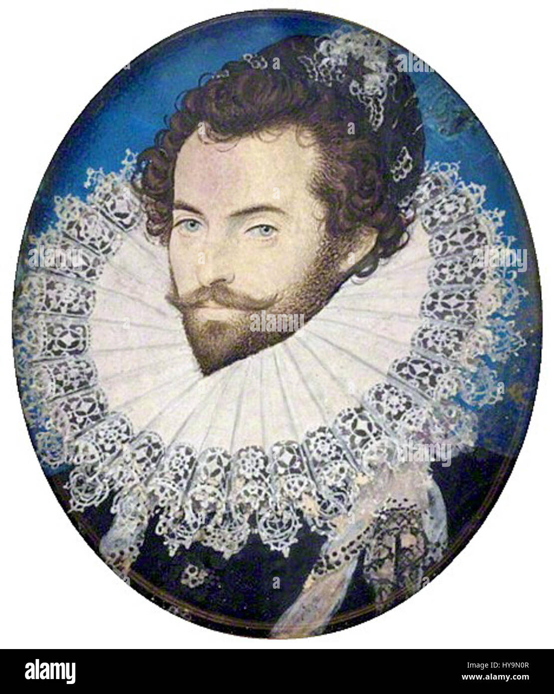 Sir Walter Raleigh - Stock Image