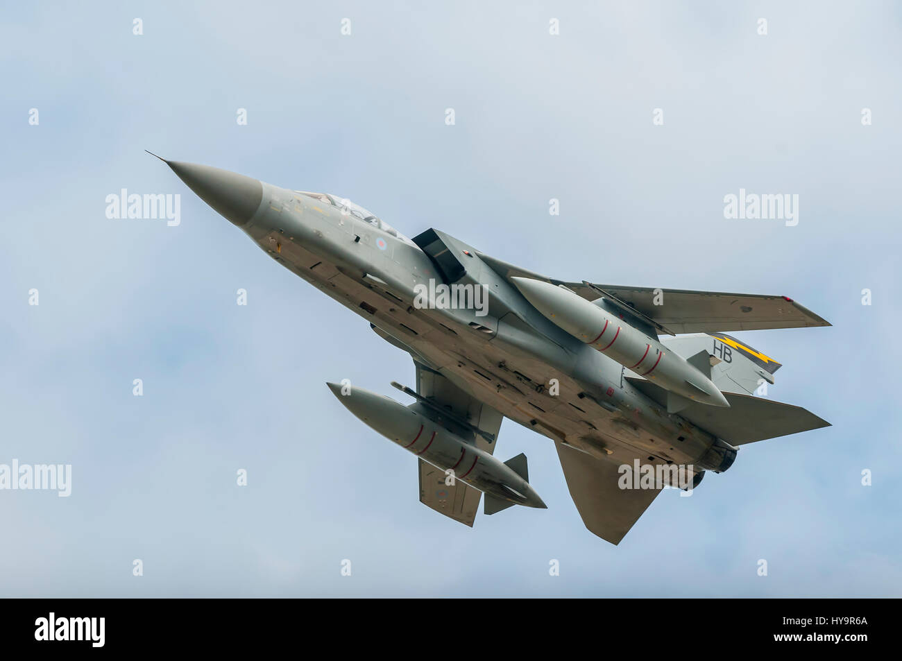 RAF Tornado F3 111 Sqn Stock Photo