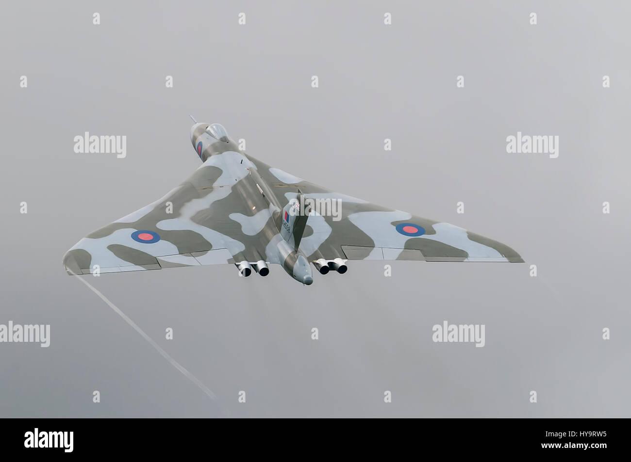 AVRO Vulcan XH355 - Vulcan to the skies Stock Photo