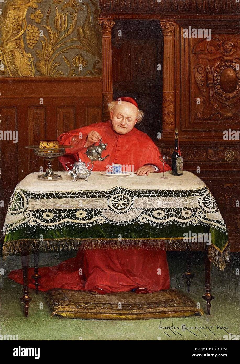 Georges Croegaert Der Kardinal Stock Photo