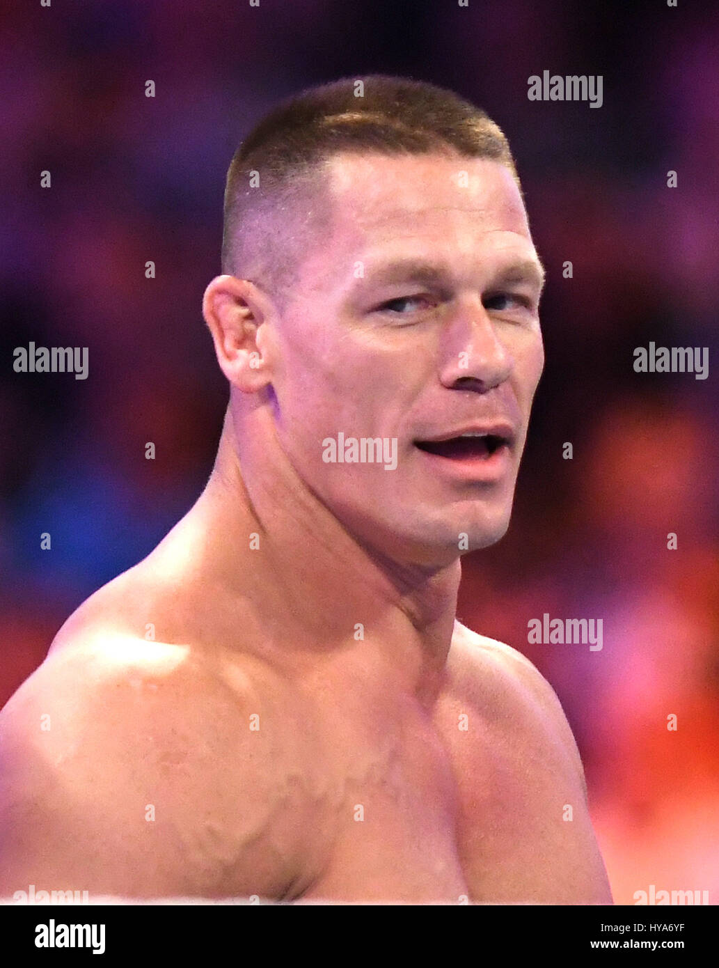 John Cena at WWE's WrestleMania