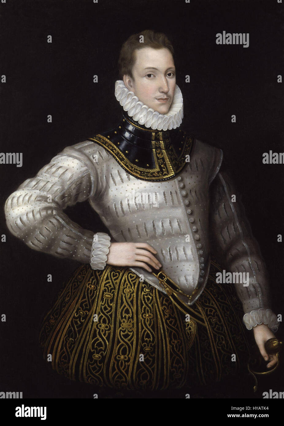 Sir Philip Sidney from NPG - Stock Image