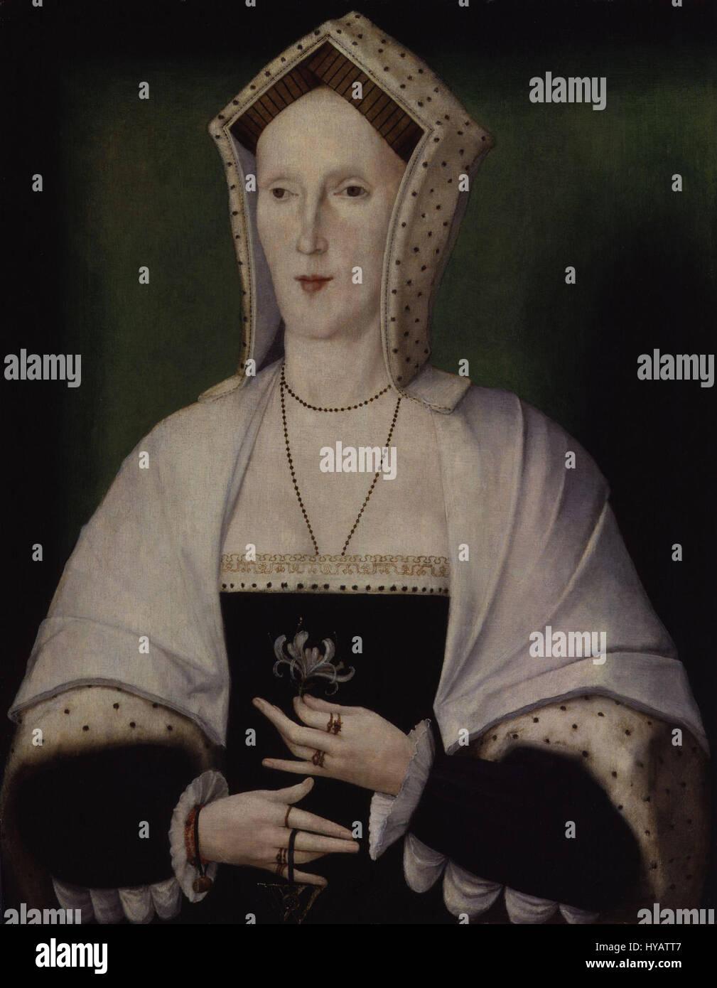 Unknown woman, formerly known as Margaret Pole, Countess of Salisbury from NPG Stock Photo