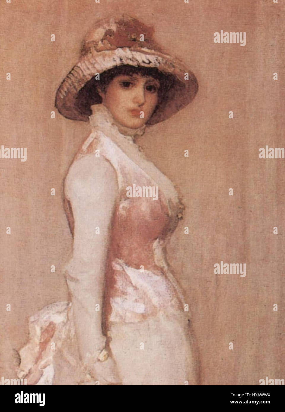 James Abbot McNeill Whistler 011a - Stock Image