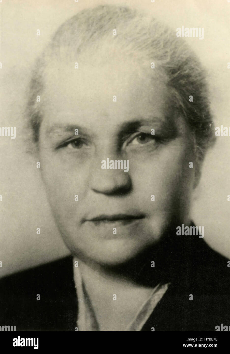 Mrs. Muravjeva, member of the Soviet Presidium, USSR - Stock Image