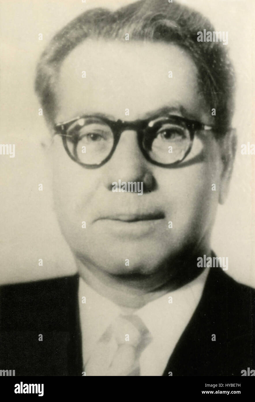 Mr. Serdjuk, member of the Soviet Presidium, USSR - Stock Image