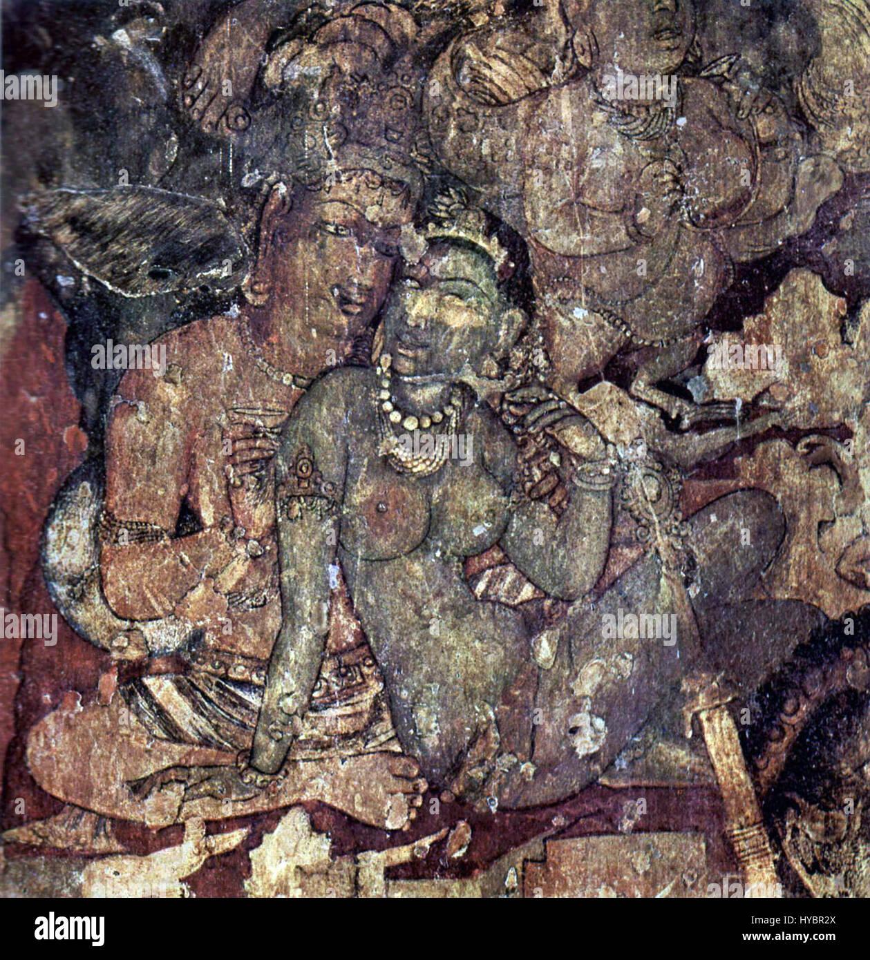 Indischer Maler Des 6. Jahrhunderts 001 2   Stock Image