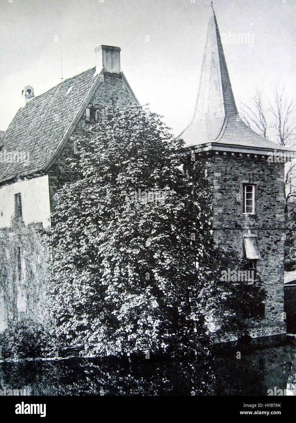 IMG 2584 Rittergut Romber Hauptgebaeude Suedost 1894 - Stock Image