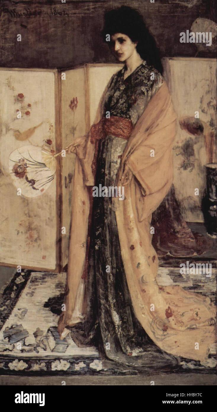 James Abbot McNeill Whistler 008 - Stock Image