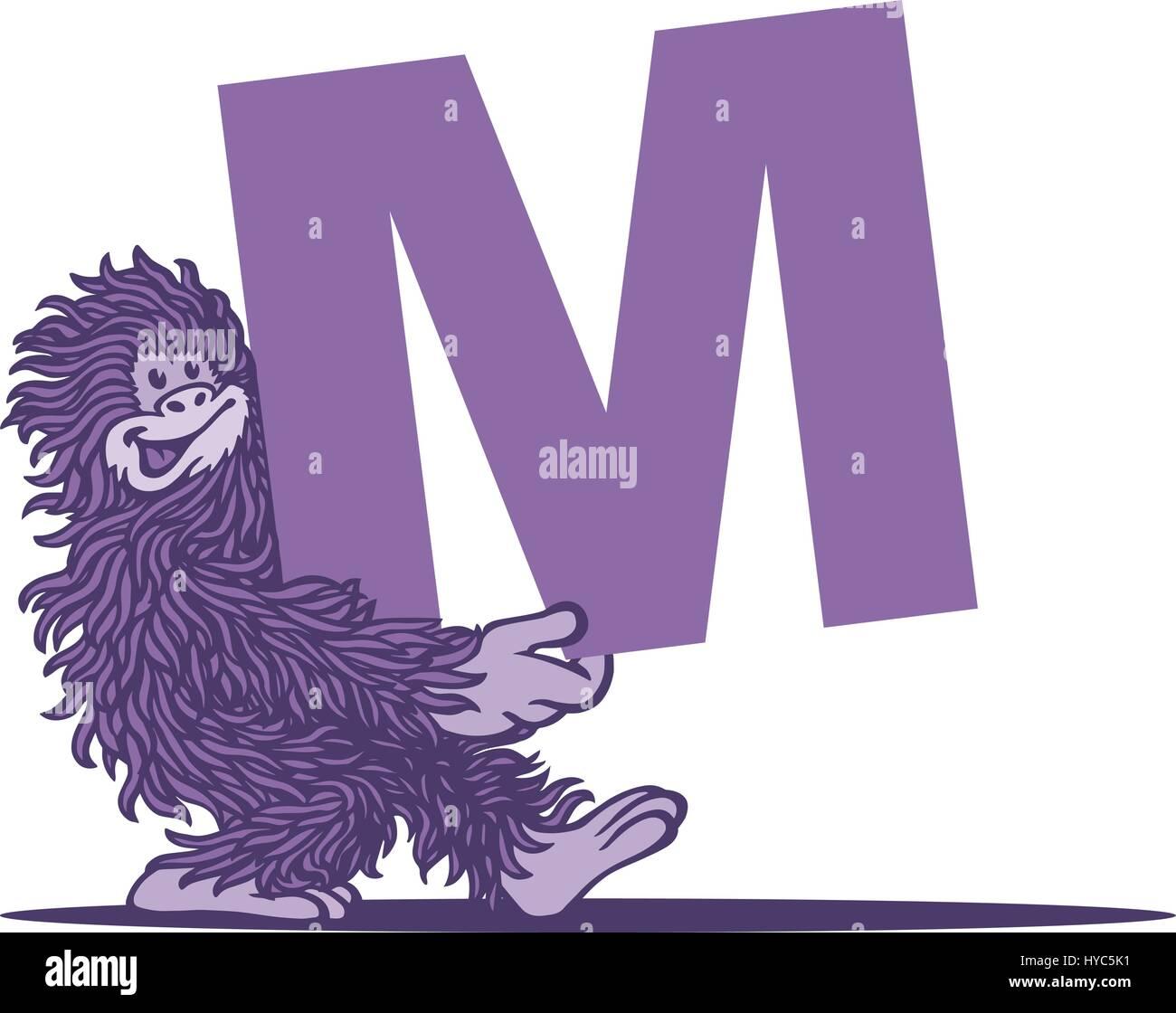 Monster Mash. Vector Illustration. - Stock Image
