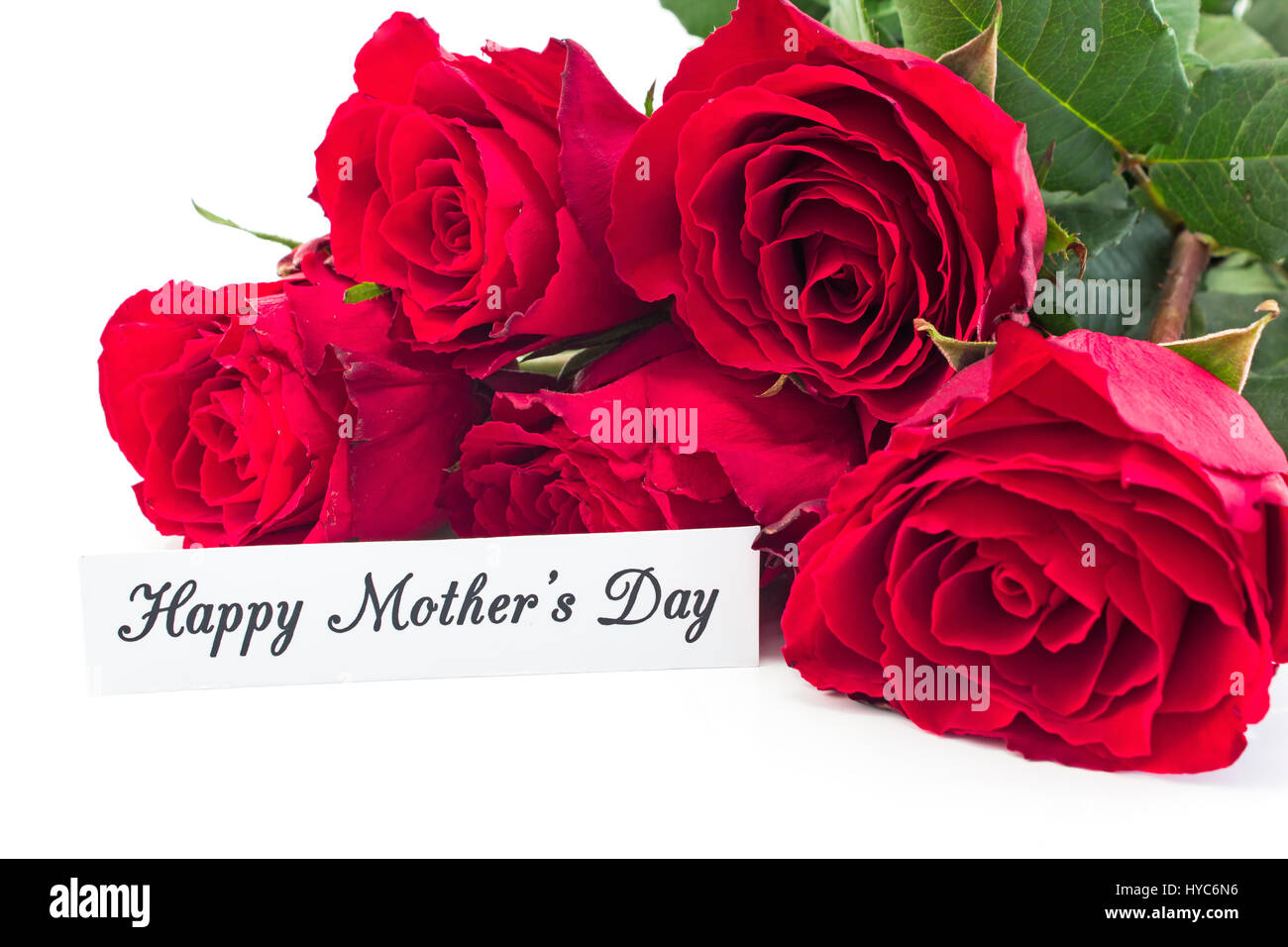 Words Happy Mothers Day Roses Stock Photos Words Happy Mothers Day