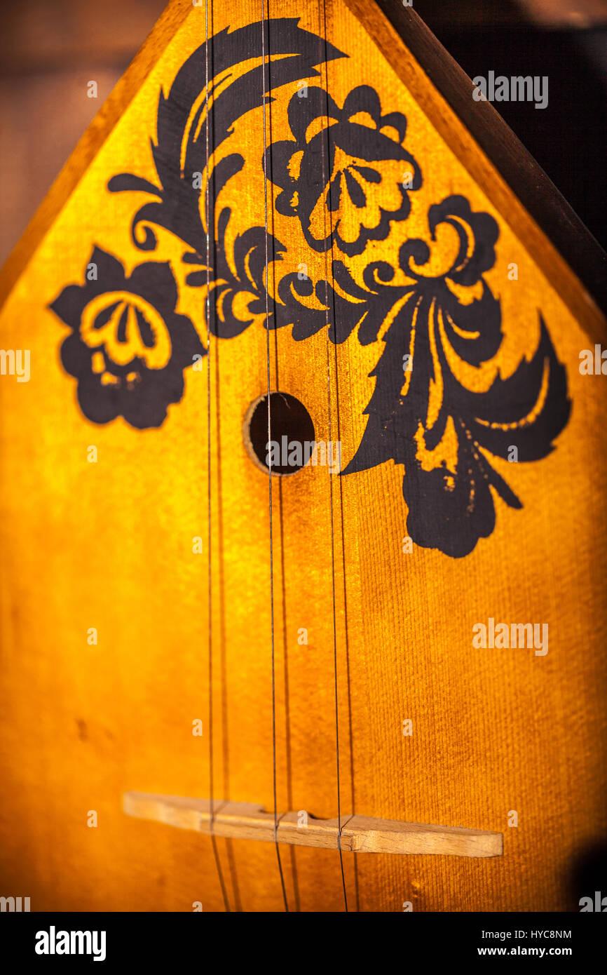 balalaika musical instrument - Stock Image