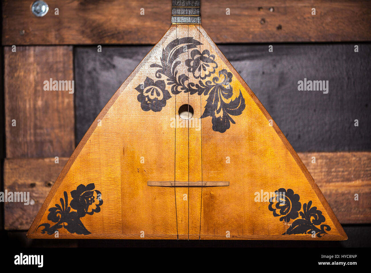 balalaika musical instrument - Stock Image